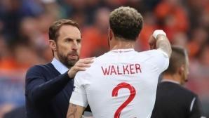 Кайл Уокър приключи с националния отбор на Англия