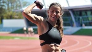 Секси атлетка доближи рекорда на Кристиано