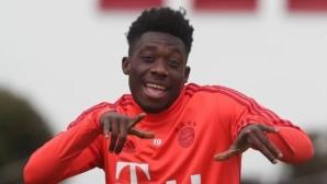 Новата звезда на Байерн се цели в Шампионската лига