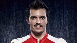 Алберт Попов, който смени любимите си ски с... колело