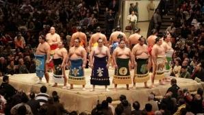 Първи заразен с коронавирус в сумото, отложиха турнира в Токио