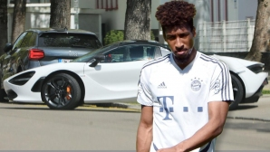 Играч на Байерн подкарал грешната кола, заплашва го глоба от 50 000 евро