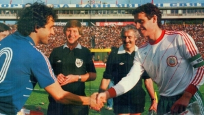 Джеки и Наско разказаха играта на Платини преди 35 г. - еврошампионът на колене в София (видео)