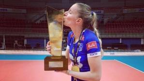 Добриана Рабаджиева: Ако не бях си тръгнала от националния отбор, може би нямаше да играя волейбол