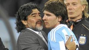 Президентът на Аржентина: Марадона е по-добър от Меси