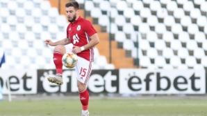 Кристиян Малинов става втори капитан на ЦСКА-София