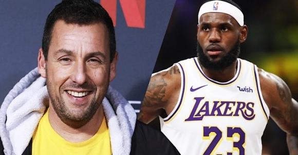 ЛеБрон Джеймс ще продуцира баскетболен филм с участието на Адам Сандлър