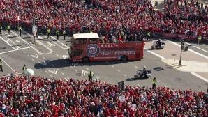 Вашингтон показва шампионските пръстени в неделя