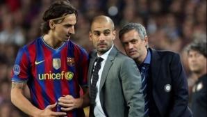 Моуриньо разкри какво е казал на Гуардиола по време на Барса - Интер