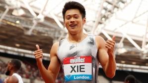 Рекордьорът на Азия на 200 метра гони олимпийски медал