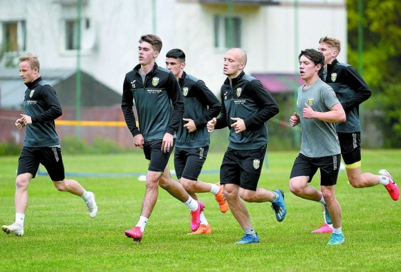 Футболисти на Карпати (Лвов) са заразени с коронавирус