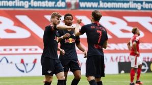 Тимо Вернер става все по-завършен играч, радва се треньорът му