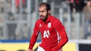 Халф на ЦСКА-София се завръща към тренировките