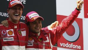 Фелипе Маса разказва за отношенията си с Михаел Шумахер след инцидента