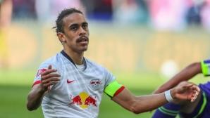 Капитанът на РБ Лайпциг ще пропусне част от оставащите седем мача