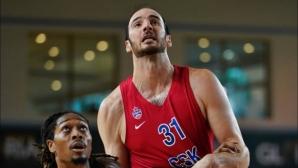 ЦСКА (Москва) освободи бивш играч от НБА