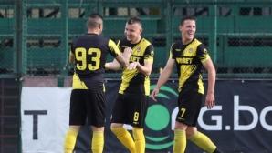"""Завръщането на футбола продължава: Ботев удари Славия на """"Коматево"""" (видео+снимки)"""