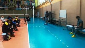 Велчо Соколов и Николай Касабов изнесоха семинар за треньорите на Марица