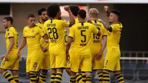 Падерборн 0:0 Дортмунд, големи пропуски на гостите (Гледайте тук)