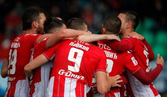 Цървена звезда е първият полуфиналист за Купата на Сърбия (видео)