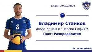 Владимир Станков: Дойдох в Левски, за да се уча от Андрей Жеков (видео)