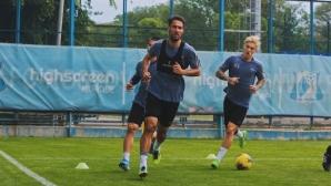 Ивелин Попов и останалите играчи на Ростов подновиха отборните тренировки