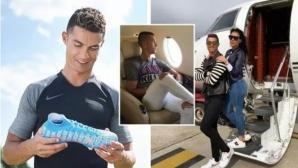 Кристиано официално стана първият футболист милиардер