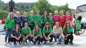 Пирин с инициатива, Ива Уорън показа футболни умения