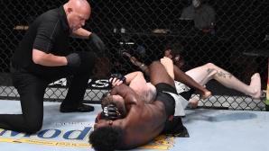 Стърлинг задуши Сандхаген още в първия рунд на UFC 250 (видео + снимки)