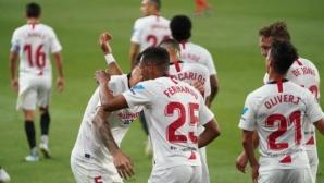 Ла Лига се завърна с неравностойно дерби (видео)