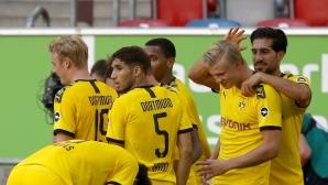 Холанд донесе незаслужен успех на Дортмунд (видео)