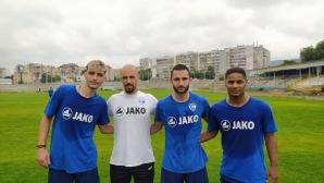 Четирима нови се присъединиха към тренировките на Спартак (Варна)
