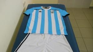 Созопол вече с Errea - морският тим ще се облича като Аржентина