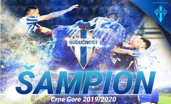 Будучност стана шампион на Черна гора
