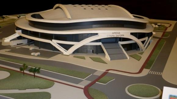 """Вижте как ще изглежда бъдещата """"Арена Стара Загора"""" (снимки)"""