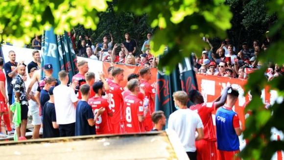 Феновете на Унион отпразнуваха края на сезона