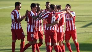 Атлетико продължи силната си серия (видео)