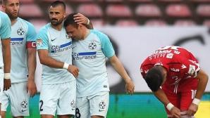Бивш футболист на Лудогорец поведе ФКСБ към разгром срещу вечния съперник (видео)