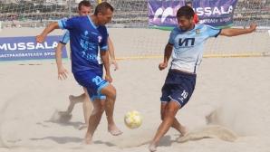 Обявиха осемте отбора в плажния ни футбол за сезон 2020