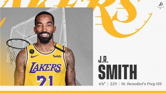 Официално: Джей Ар Смит се събра с ЛеБрон Джеймс в ЛА...