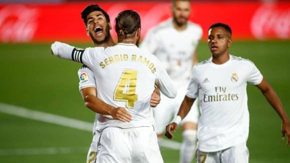 Реал Мадрид никога не е изпускал титлата при такава...