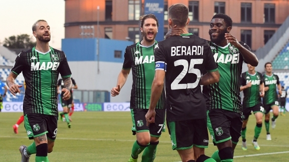 Атаката на Сасуоло осигури успех срещу Лече (видео)