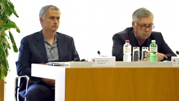 Моуриньо: Ще наруша правилата, за да прегърна Анчелоти