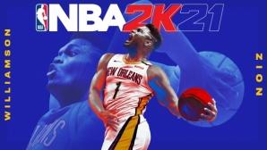 Само 19 мача бяха нужни на Зайън, за да блесне на обложката на NBA 2K21
