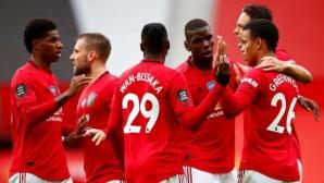 Манчестър Юнайтед 3:1 Борнемут, страхотен гол на Марсиал (гледайте тук)