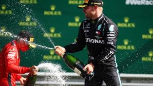 Ботас спечели лудото шоу в Австрия при откриването на сезона във Формула 1