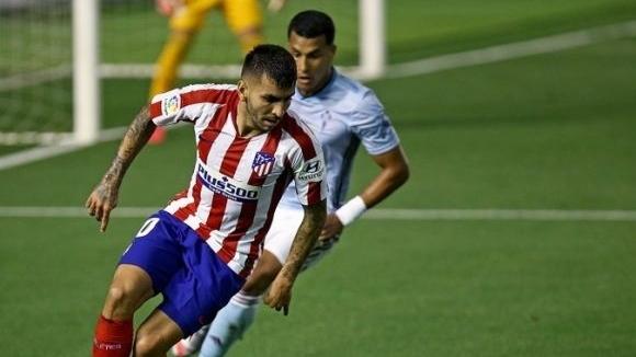 Селта получи гол в 1-ата минута, но спря и Атлетико (видео)