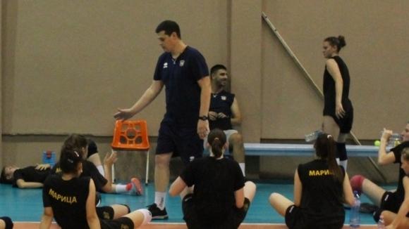 Диян Боюклиев преди финалите: Целта на Марица е...