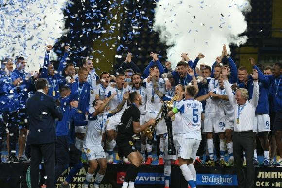 Динамо Киев спечели Купата на Украйна