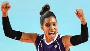 Кубинска волейболистка в украинската лига
